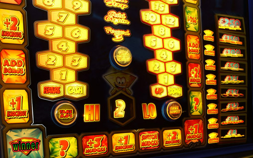 Glowing Slot Machine
