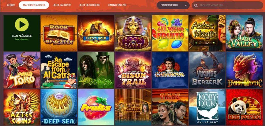 les jeux de gunsbet casino