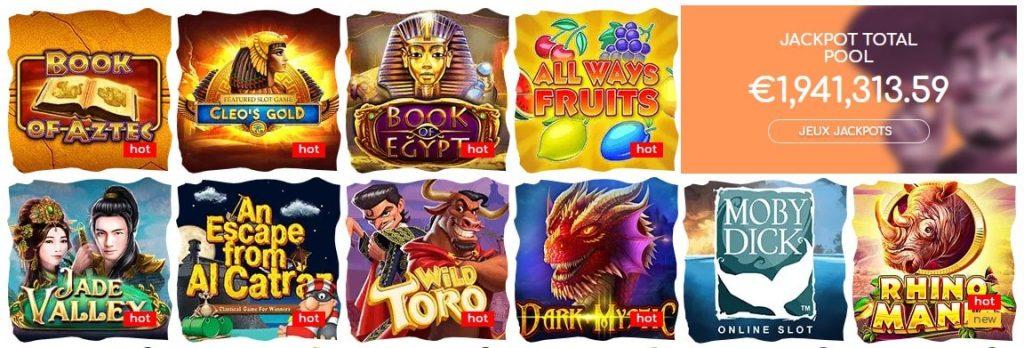 les jeux de loki casino