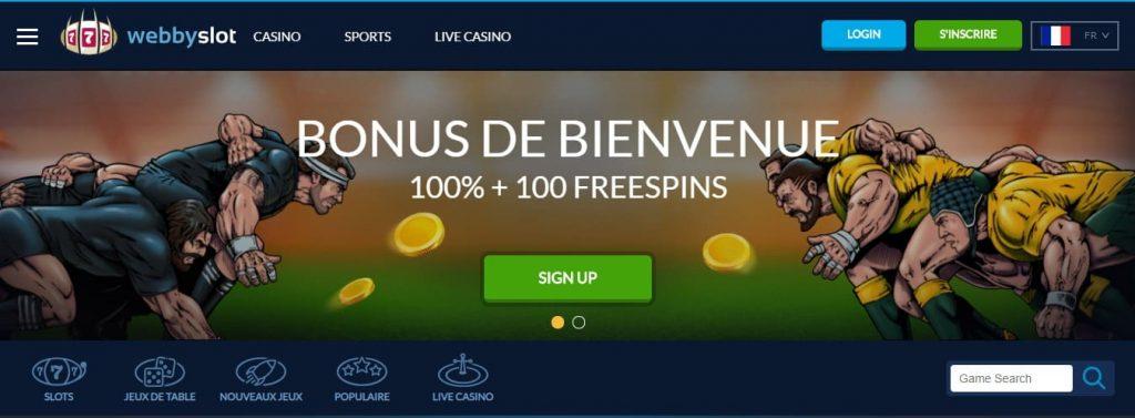 webbyslot casino en ligne suisse